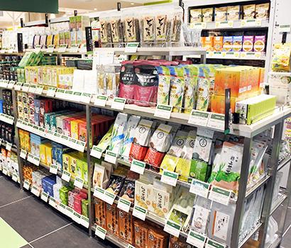 国内製造のオーガニック関連商品の開発が進む