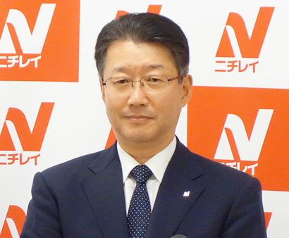 ニチレイフーズ・福本雅志取締役 価値創造サイクルで市場成長を