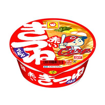 「マルちゃん 赤いきつねうどん カープ応援カップ」発売(東洋水産)