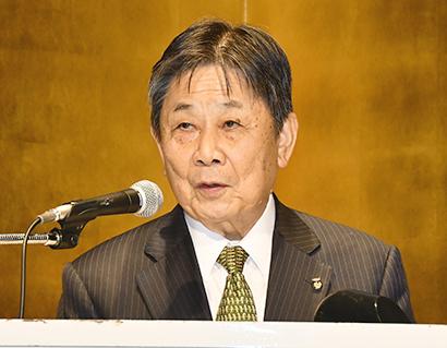 食品産業文化振興会会長・中野勘治氏