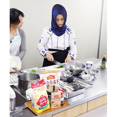 日本製粉、「トルコ料理教室」に協賛 日本・トルコの相互理解・友好親善を