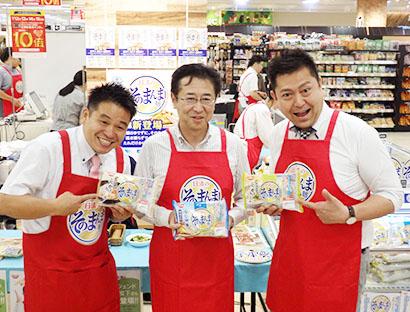 日清食品チルド、「日清のそのまんま麺」実演販売 簡便性・おいしさを訴求