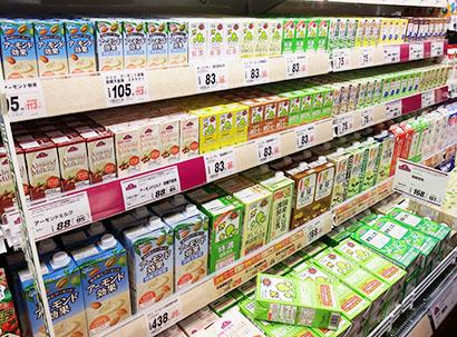 豆乳を日常的に摂取する消費者が増加