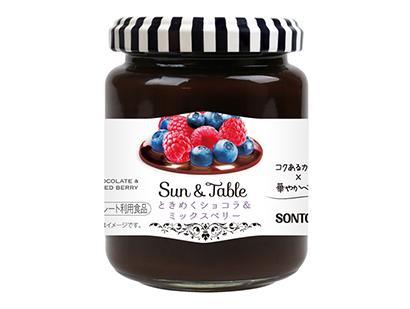 ソントン、「Sun&Table」に新商品 売場視認性の向上図る