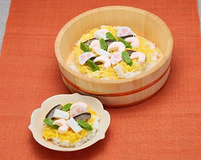 介護食品特集:ふくなお「艶やわごはん 彩りちらし寿司」