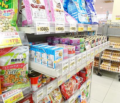 ◆ペットフード特集:小売各社、強化カテゴリーに 新たな需要を開拓