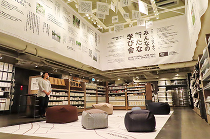 キャンパス内の店舗で学生と新たな価値創造を目指す