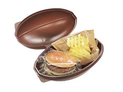 軽食セットを入れると、楽しいランチBOXに ※フードタッチ不可。食品を入れる場合は必ず包装してください