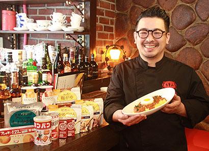 「非常洋食」を提供する大谷隆史シェフ
