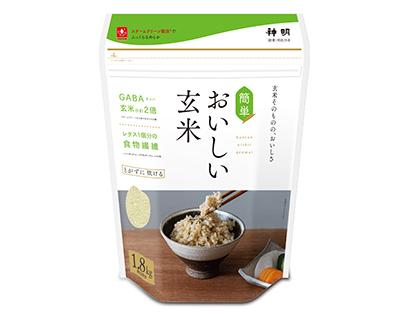 高機能性米特集:神明HD スチームクリーン製法採用「簡単・おいしい玄米」投入