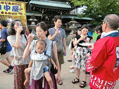 関西みそPR委員会、「天神祭」に出展 冷たい味噌汁を提案