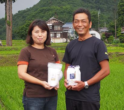 南魚沼産しおざわコシヒカリの生産とブランド向上に注力する石坂光司・まゆみ夫妻