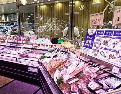 ライフコーポレーション「ライフ本一色店」 対面で水産鮮度を訴求