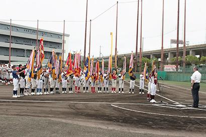 神明あかふじ米少年野球大会が開幕 兵庫県で熱戦繰り広げる
