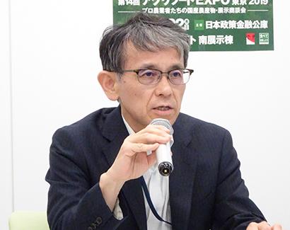 新井毅本部長