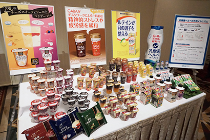 多様化する食ニーズに対応する商品をラインアップ
