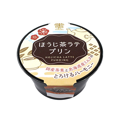 「ほうじ茶ラテプリン」発売(トーラク)