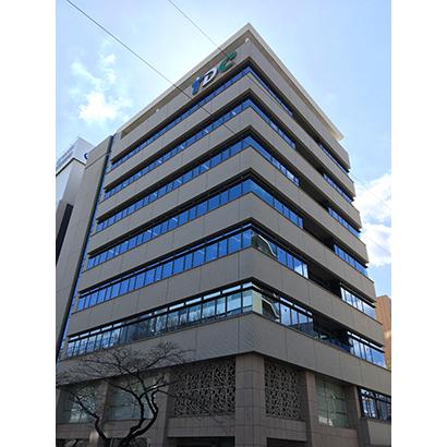 1996年に完成した静岡市葵区伝馬町本社ビル社屋