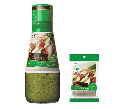 キユーピー、Italiante「バジルソース」改良 風味高め幅広く活用へ