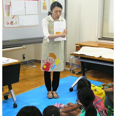 キユーピー、こども霞が関見学デーで卵の有効活用を説明