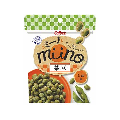 「miino 茶豆しお味」発売(カルビー)