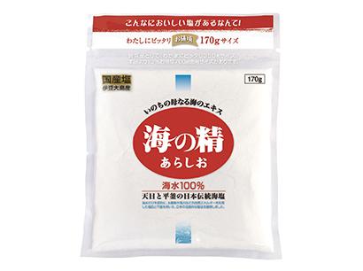 塩特集:海の精 こだわりの味を届ける 醤油など加工品も堅調
