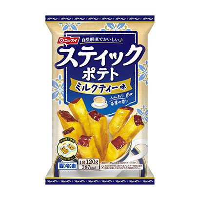 冷凍「スティックポテト ミルクティー味」発売(日本水産)