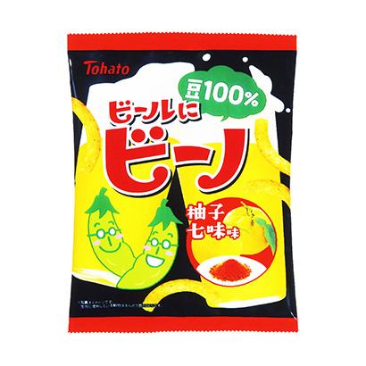 「ビールにビーノ 柚子七味味」発売(東ハト)