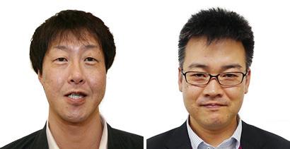 (左)東北カンパニーマーチャンダイザー 鈴木伸幸氏、(右)北関東カンパニー マーチャンダイザー 水口卓也氏