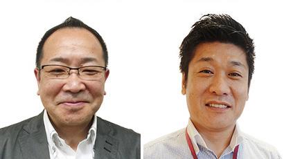 (左)南関東カンパニーマーチャンダイザー 北澤和人氏、(右)北陸信越カンパニーマーチャンダイザー 中島賢彦氏