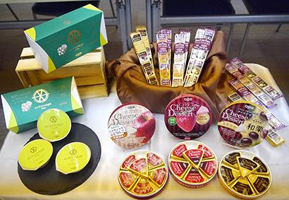 神戸工場本格稼働により、新商品発売や、休売品を再販できる体制が整った