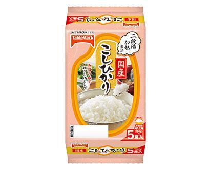 包装米飯特集:テーブルマーク 今期も2桁伸長へ 主力品パッケージ一新