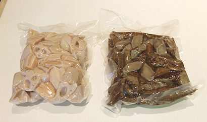 今シーズンからレンコン、ゴボウの「下茹野菜」を本格販売