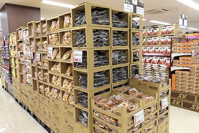 スーパーバリュー、SM・HC一体型「松戸五香店」開店 総合力と価格訴求で勝負