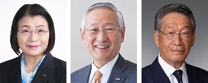 左から中島伸子氏、川村和夫氏、池田和穗氏