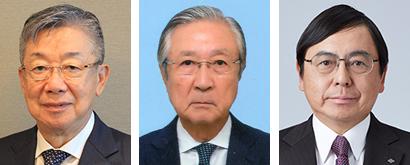 左から青木保外志氏、富澤三継氏、清水洋史氏