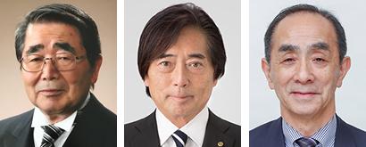 左から瓦葺利夫氏、淺野秀則氏、本田英一氏