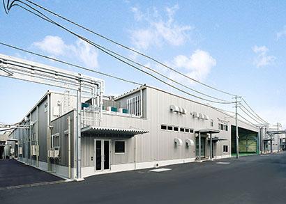 ニビシ醤油 瓶詰工場