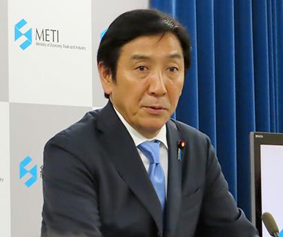 菅原一秀経産大臣