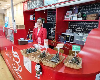 海外日本食 成功の分水嶺(84)おにぎり販売「カフェ21」〈下〉