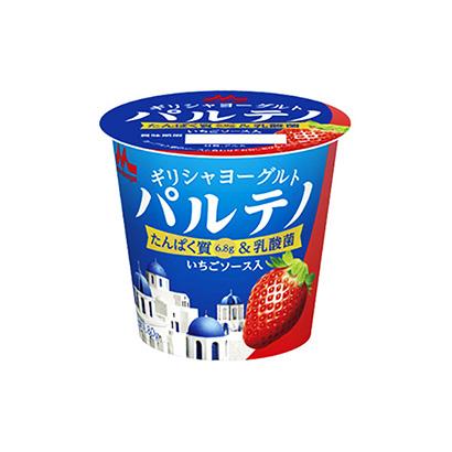 「濃密ギリシャヨーグルト パルテノ いちごソース入」発売(森永乳業)