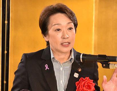 東京オリンピック・パラリンピック担当相 橋本聖子氏