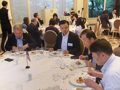 駐大阪・神戸米国総領事館でアメリカ産食材セミナー シェフ50人にアピール