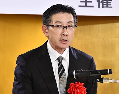 第22回日食優秀食品機械・資材・素材賞 代表謝辞 クレオ・荒井誠一社長