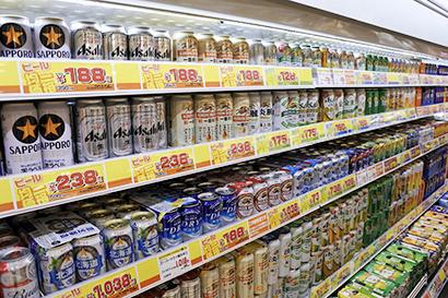 酒類流通の未来を探る:小売最前線=限られた売場で選ぶ楽しみ
