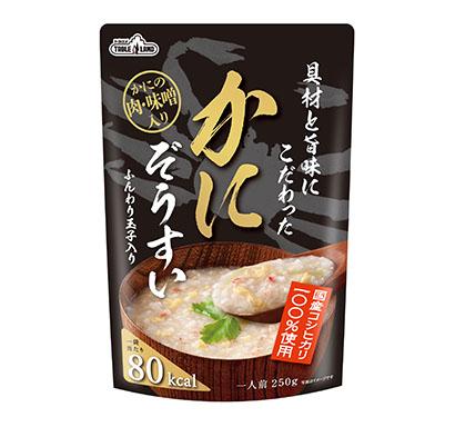 缶詰・瓶詰・レトルト食品特集:テーブルランド かゆ・雑炊を新成長軸に位置付け