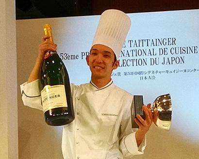 ル・テタンジェ料理大会開催 市川隆太氏が国際大会へ