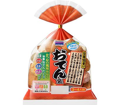 水産練り製品特集:堀川 「おでん袋」+好み1品を訴求