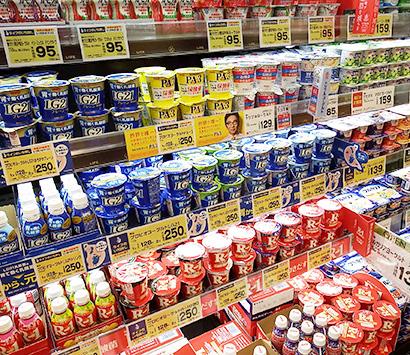ヨーグルト・乳酸菌飲料特集:量販店3社販売動向=付加価値訴求品登場に期待