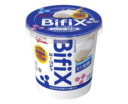 ヨーグルト・乳酸菌飲料特集:江崎グリコ 食物繊維訴求で「BifiX」拡販